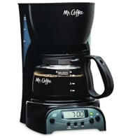 Mr Coffee DRX5 Programmable Coffeemaker