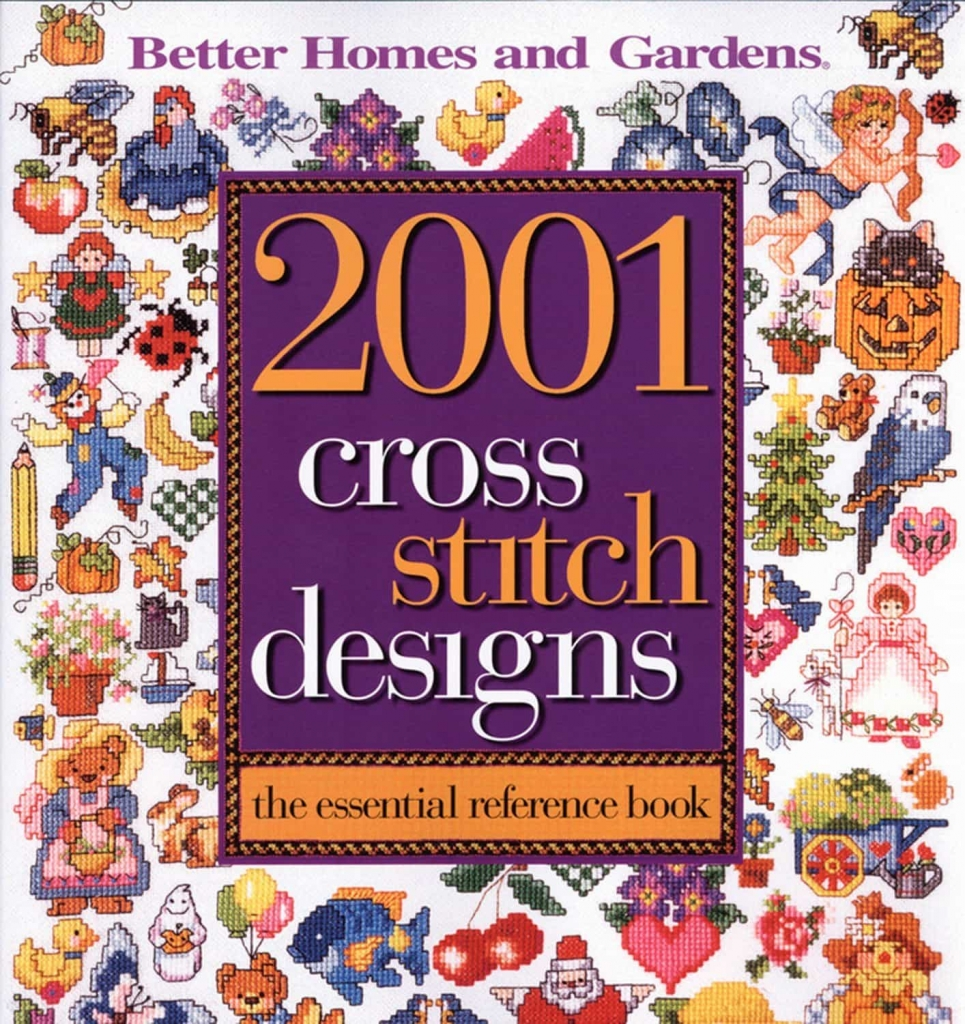 2001_Cross_Stitch_Designs_Book