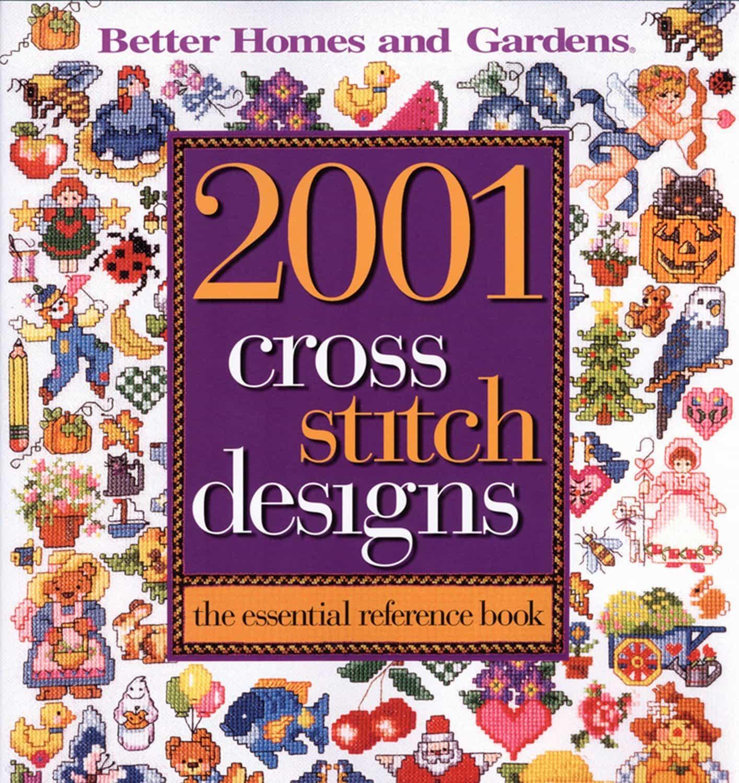 2001_Cross_Stitch_Designs_Book