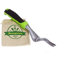 Hand Weeder with Ergonomic Handle by Homegrown Garden Tools