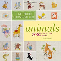 Two-Hour Cross-Stitch Animals 300 Quick & Easy Designs