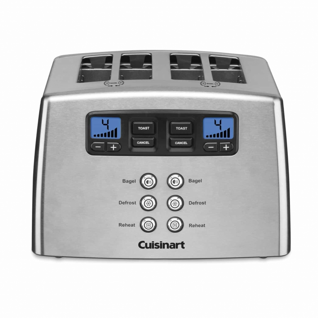 Cuisinart CPT-440 4-Slice Leverless Toaster