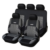 Adeco 9-Piece Universal Fit Vehicle Seat Covers