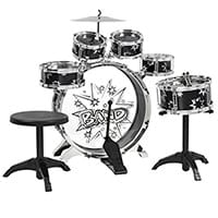 Best-Choice-Products-11-Piece-Kids-Drum-Set