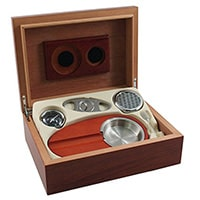 Burl-Wood-Humidor-6-Piece-Cigar-Gift-Set