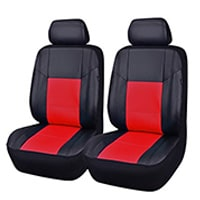 CAR PASS 6-Piece Universal Fit Leather Car Seat Covers
