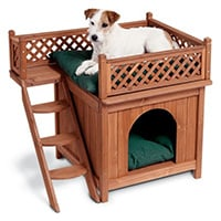 Merry-Products-Wood-Pet-Home