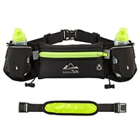 Mira-Tech Hydration Running Belt with Water Bottles
