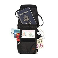 RFID Blocking Passport Holder & Neck Stash from Tarriss