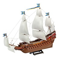 Revell-AG-Germany-1-150-WASA-Swedish-Regal-Sailing-Ship-Model-Kit