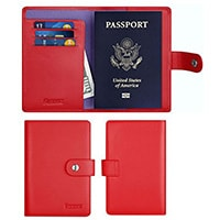Simpac Leather Passport Holder