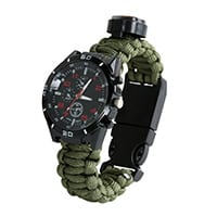 Thermometer-Paracord-Survival-Watch