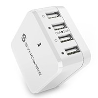 USB-Charger-Plug-Syncwire-34W-4Port