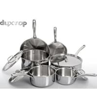 Secura's Duxtop Whole-Clad Tri-Ply 10 Piece Stainless Steel Set