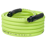 Flexzilla Pro Water Hose with Reusable Fittings
