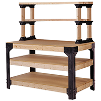 Hopkins 2x4 Basics Workbench and Shelving