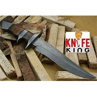 Knife King Emperor Custom Damascus Handmade Hunting Knife