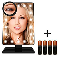Krasr Touch Screen Makeup Mirror with LED LightsS