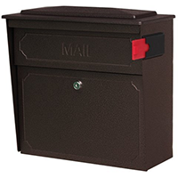 Mail Boss Locking Wall Mount Mailbox