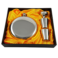 Palm City Products Round Flask Gift Set