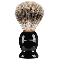 Perfecto Shaving Brush Black Handle