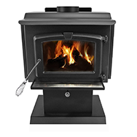 Pleasant Hearth 1200 Square Feet Wood Burning Stove