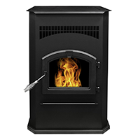 Pleasant Hearth Cabinet Style 50000 BTUs Pellet Stove