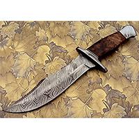 REG 274 Handmade Damascus Steel 13 inch Hunting Knife