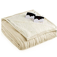 Biddeford Micro-Plush Sherpa Electric Blanket