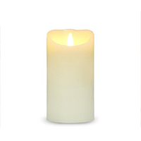 Gemgo Free-Flowing 3D LED Real Wax Flameless Candle