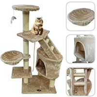 Lolipet - Cat Tree with Scratching Post-s