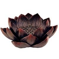 Lotus Incense Burner - Meditation Flower