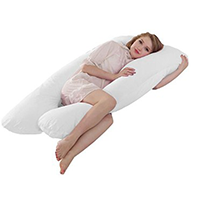 Queen Rose U Shaped Pregnancy Body Pillow