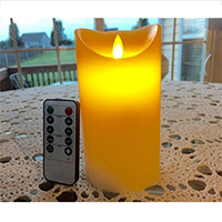 Simple Elegance Flameless Candles with Remote Timer