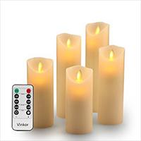 Vinkor Flickering Flameless Candles