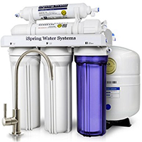 iSpring RCC7 WQA Gold Seal Certified 5-Stage Reverse Osmosis System