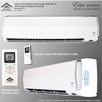 Amvent Ductless Wall Mount Air Conditioner