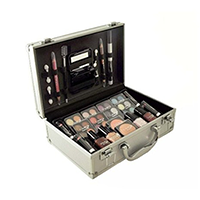Cameo Carry All Makeup Trunk Train Case