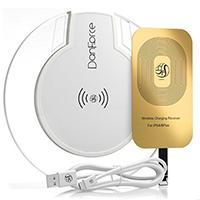 DanForce Qi Wireless Charging Kit Bundle