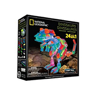 Laser Pegs National Geographic Dinosaurs Building Ki