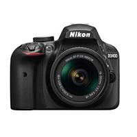 Nikon D3400 w AF-P DX NIKKOR