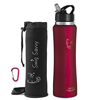 Swig Savvy Stainless Steel Insulated Water Bottle