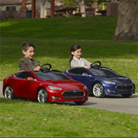 Tesla Radio Flyer Model S