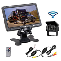 Camecho RC 12V 24V Car Vehicle Rear View Wireless